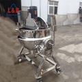 stainless steel Material 300L capacity sesame jam making machine