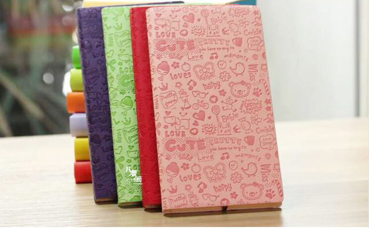 ECO Hot stamping PU Recycled Notebook