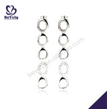 2013 Simple Design Funky Fashion Hoop Circle Earrings