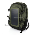 Outdoor Solar Backpack Solar Charger Back Pack Bag With Removable 6.5W Solar Panel Bag outdoor bag