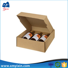 Hot sale cheap corrugated wine cardboard packaging box