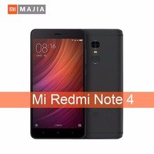 Redmi Note 4 smartphone/Metal Body 5.5 Inch FHD Touch Screen Helio X20 Ten Core Android cell phone