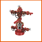 API 6A 21Mpa PR1 and PR2 Double-channel completion wellhead and Christmas tree for oil and gas
