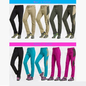 Wholesale outdoor couples climbing pants quick dry climbing pants thin rubbery climbing pants