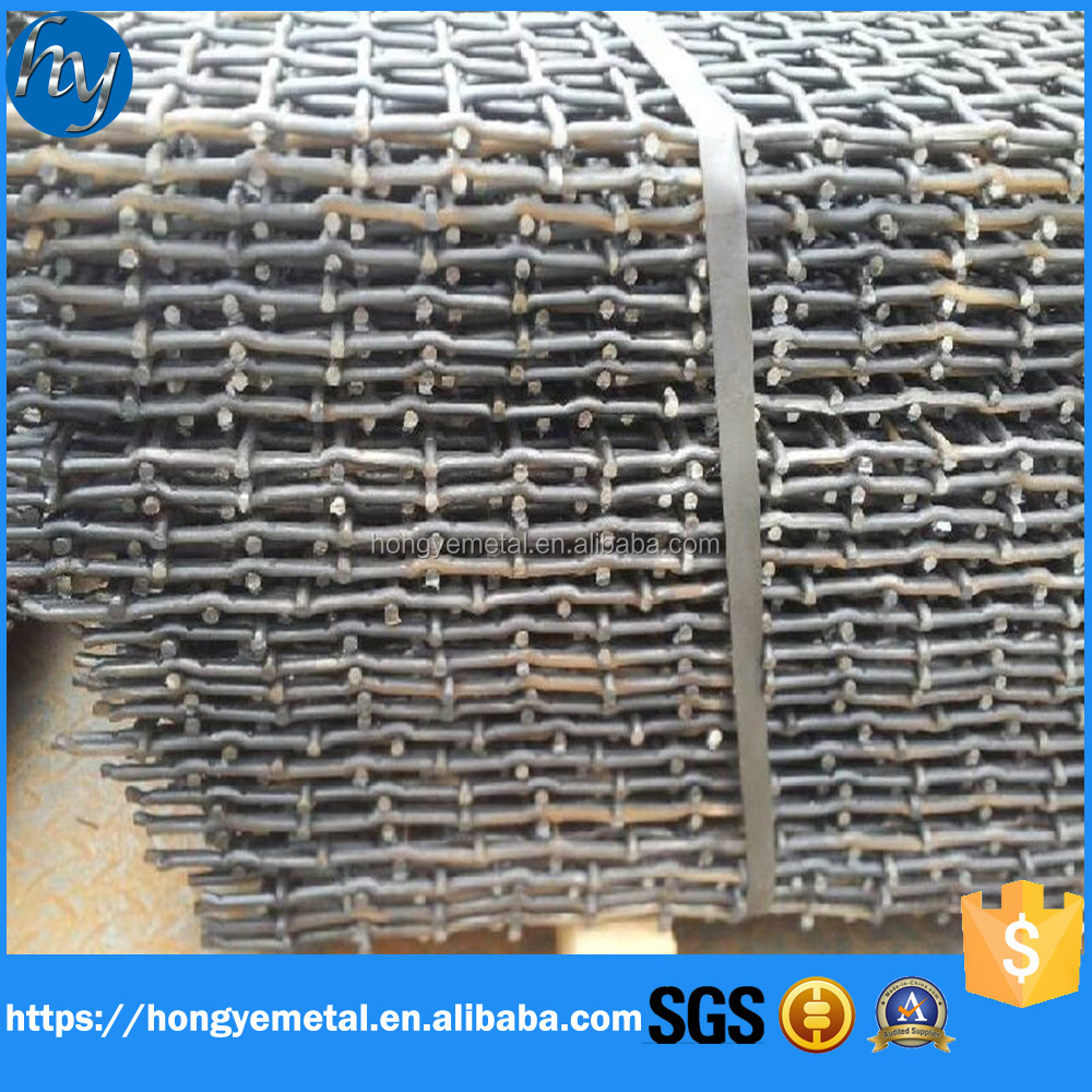 Factory direct sale Stainless Steel Crimped Wire Mesh/stainless crimped wire mesh square wire mesh/crimped wire mesh application