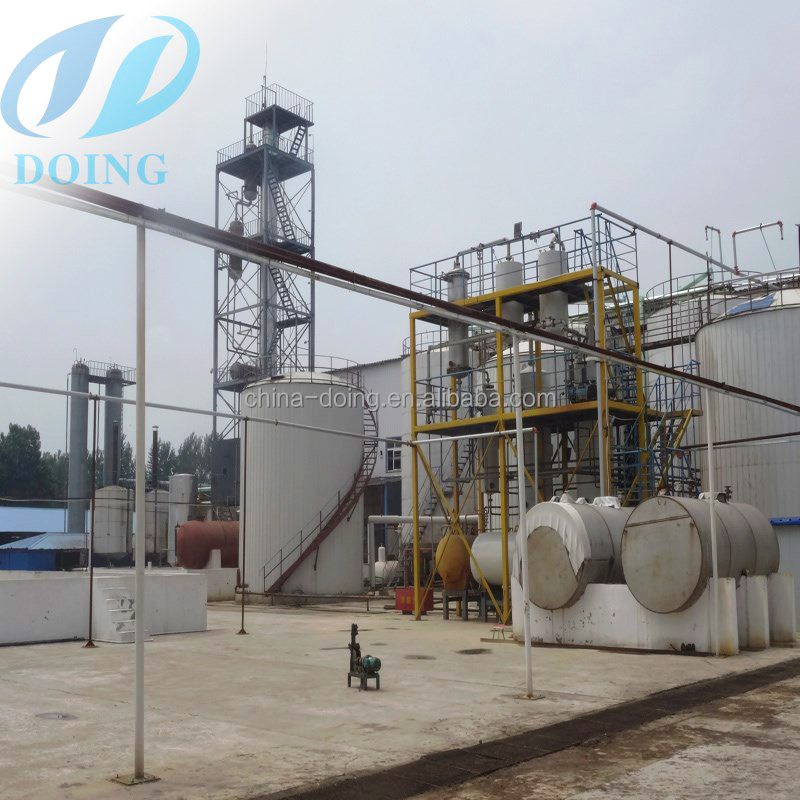 1-600t complete process for used vegetable oil to biodiesel production equipment