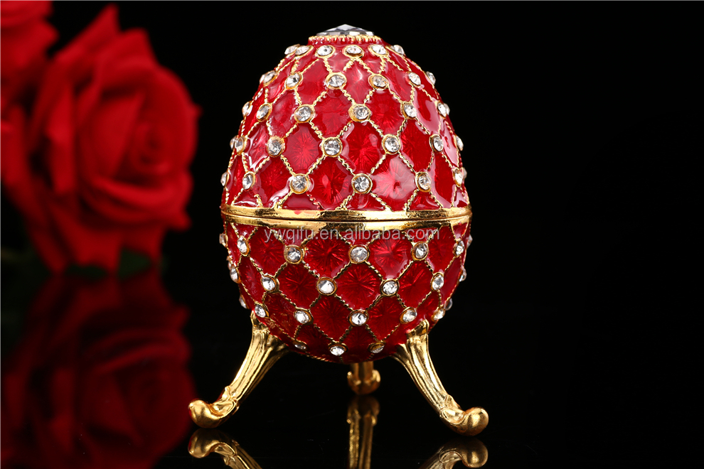 2017 new arrive wedding favours Faberge egg decoration for wedding favours (QF1972)