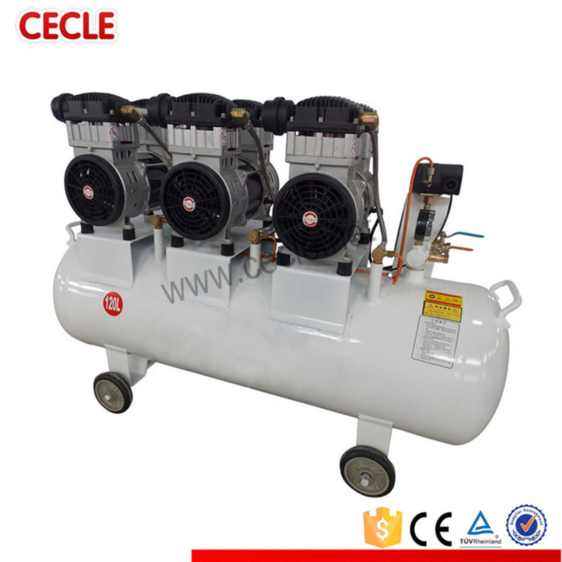 low noise silent 3hp portable electric air compressor price