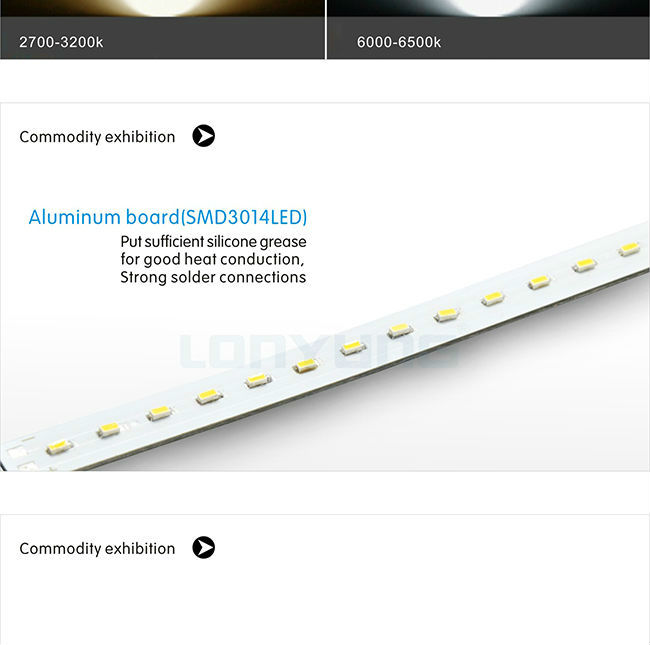 2ft LED linear tube 3000k 4000k 6000k T5 led lamp 4W 7W