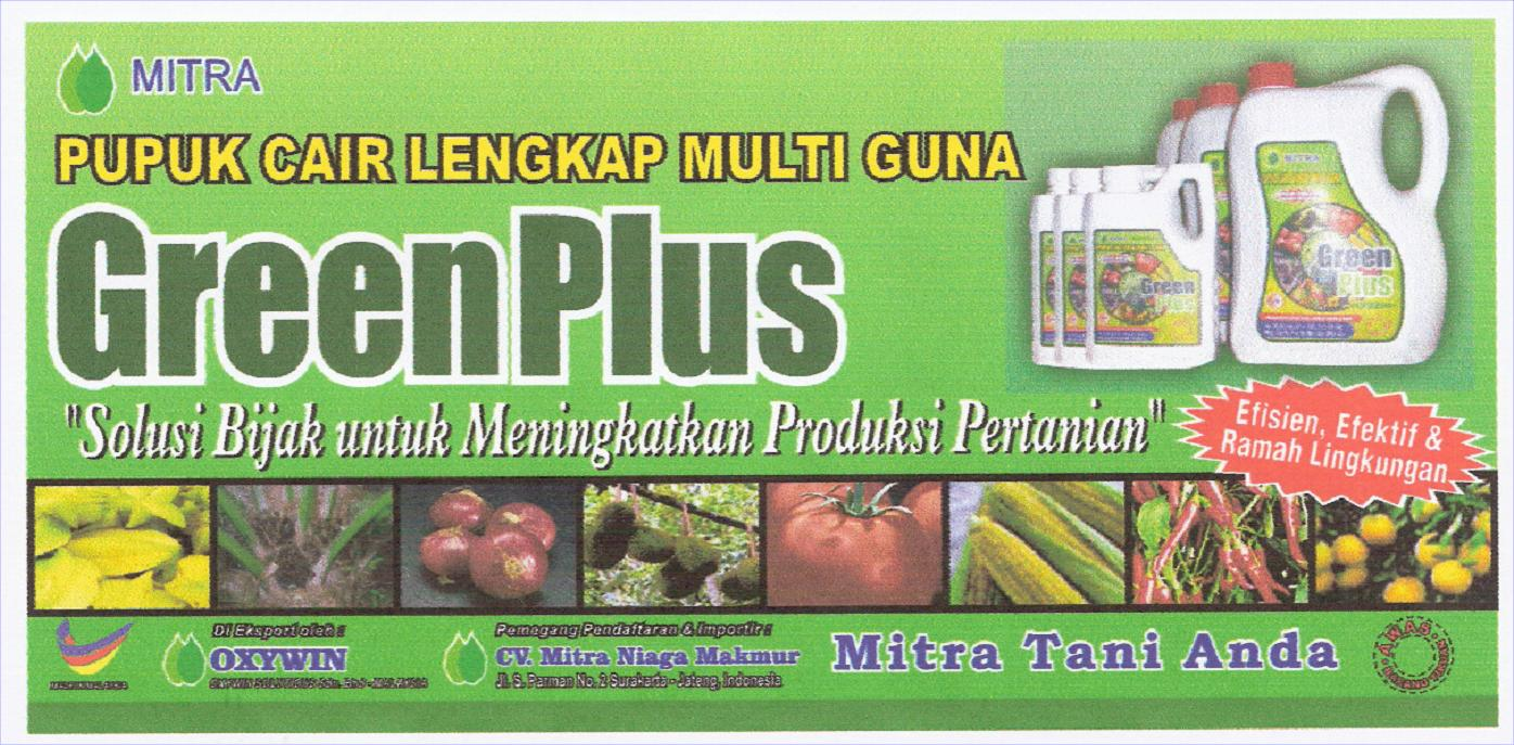 Greenplus Multipurpose Liquid Fertilizer, N, P, K + Trace Elements With Added Organic Elements