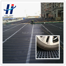 HDPE drainage board with dimples for roadbed drainage material