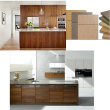 Project Modular Wooden MDF Laminate Kitchen Cabinet
