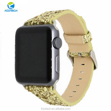 bling leather watch bands for apple watch series 3 42mm