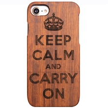 2017 Hot Laser Engraving Bamboo Wooden Cell Phone Case for Android Phone