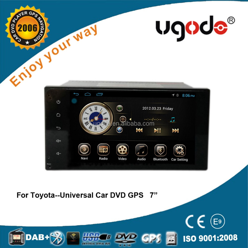 Wholesale RK PX3 quad core 2 din 7 inch car DVD GPS for TOYOTA Corolla Camry RAV4 Hilux Land Cruiser Prado