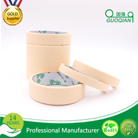 "General Use Sticky Crepe Paper Masking Tape for Auto Car Painting 2"" x 60yd"