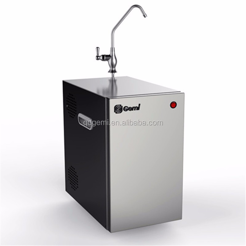 Under-sink stainless steel cold water dispenser through tap water for kitchen