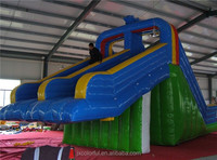 CILE 9m High Big PVC Inflatable Soft Slide Jumper for Festival with CE Blower
