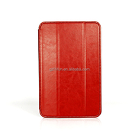 Red tablet flip stand case for lenovo a5500 8 inch