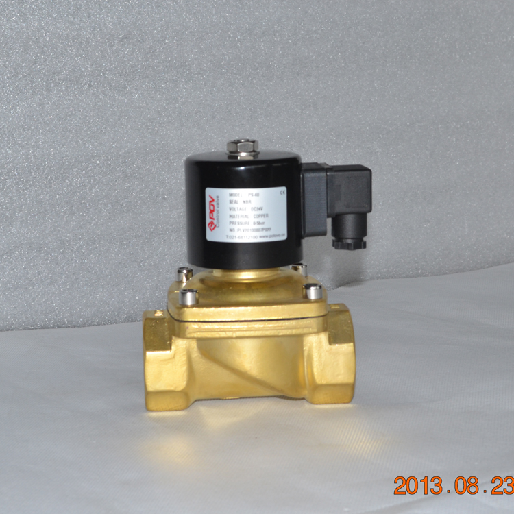 direct acting gas emergency shut off double solenoid valve stainless steel