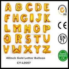 "Wholesale Letters Alphabet Foil Balloons,16"" 32"" 40"" Gold/Silver Foil Balloons,Inflatable Helium Letter Balloons"