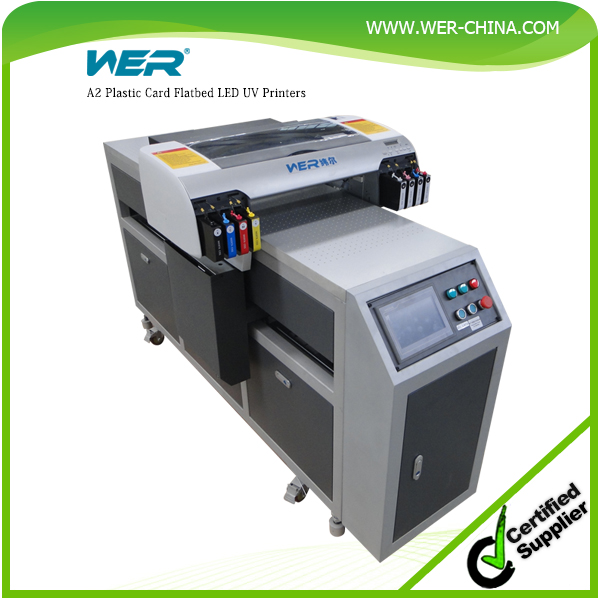 Stable performance new design A2 WER-EH4880UV led ceramic tile printing machine