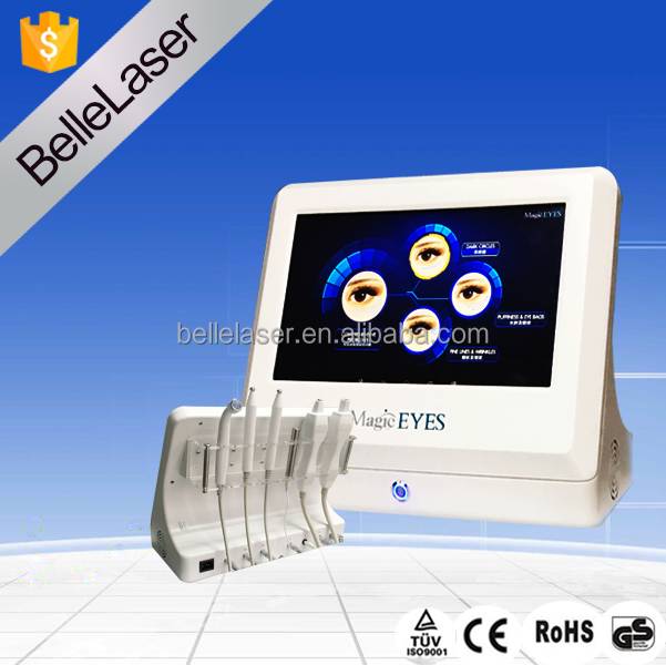 Cooling rf beauty machine for laser eye bag removal