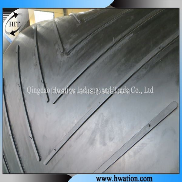 cooling flexible Chevron Belting Rubber Chevron Conveyor Belt for food conveying