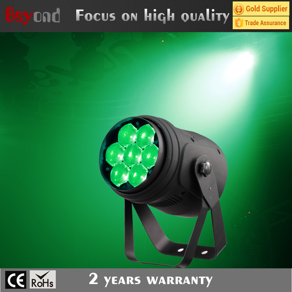 Led 15w 7*4in1 beam zoom power par can light used nightclub furniture