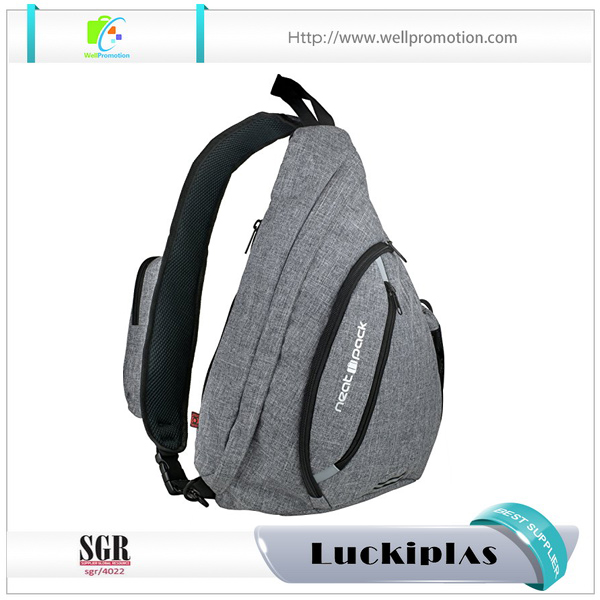 Special design waterproof rope cell phone sling bag,laptop sling bag for 15 inch