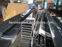 stainless steel U channel in mirror finish