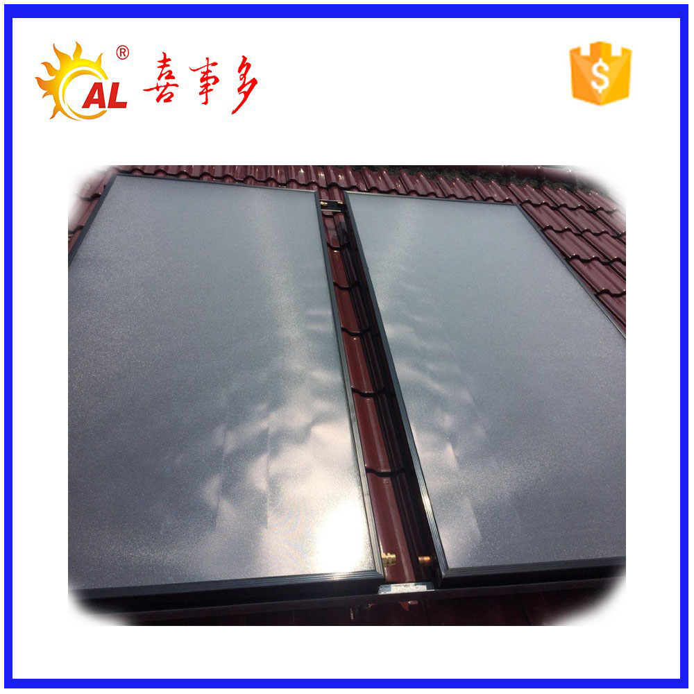 Rooftop solar selective coating for solar water collector