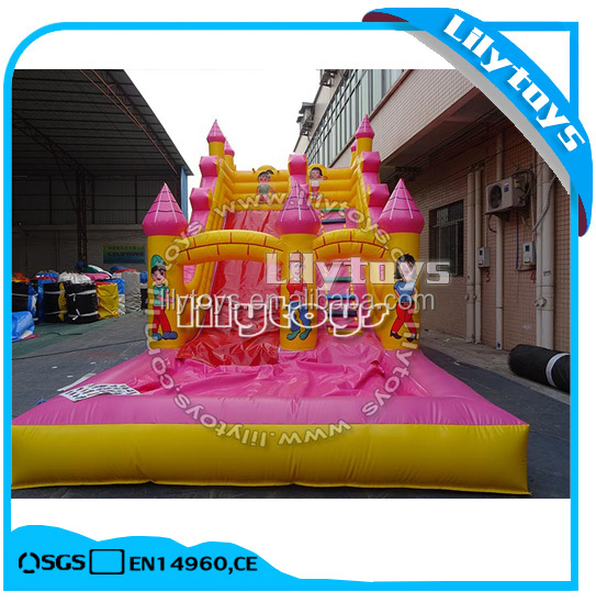 new design cheap inflatable slide playground equipment used inflatable water slide for sale