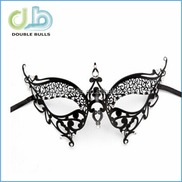 China manufacture high quality custom metal mask for party decoration