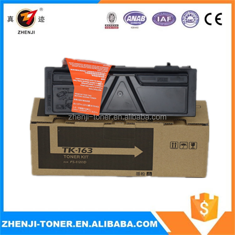 Premium laser tone cartridge for TK-162 TK-163 TK-164 toner for use in Kyocera FS-1120D