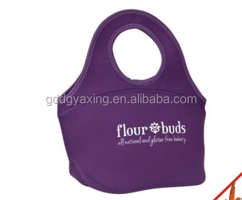 Newest design factory customized colorful shopping lunch bag , portable handle bag