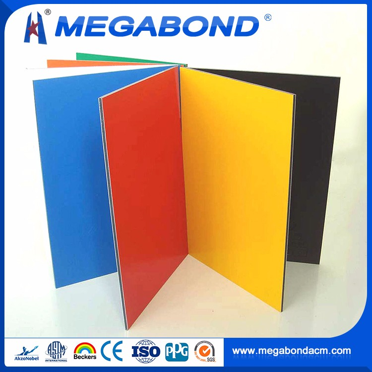 CE Standard nano pvdf acp aluminium composite plate,partition wall panel /waterproof material