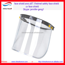 face shield ansi z87.1/helmet safety face shield