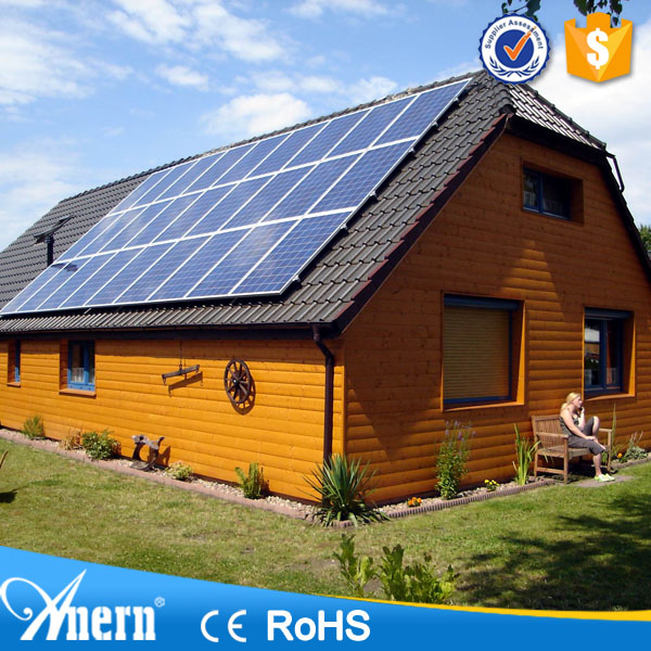 Renewable energy 10KW grid tie silicon solar systems for homes without battery