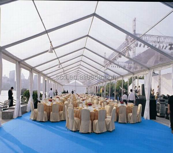 Professional Big Outdoor Used Transparent Wedding Party Event Tents