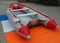 PVC inflatable fishing boat inflatable rubber rowing boat