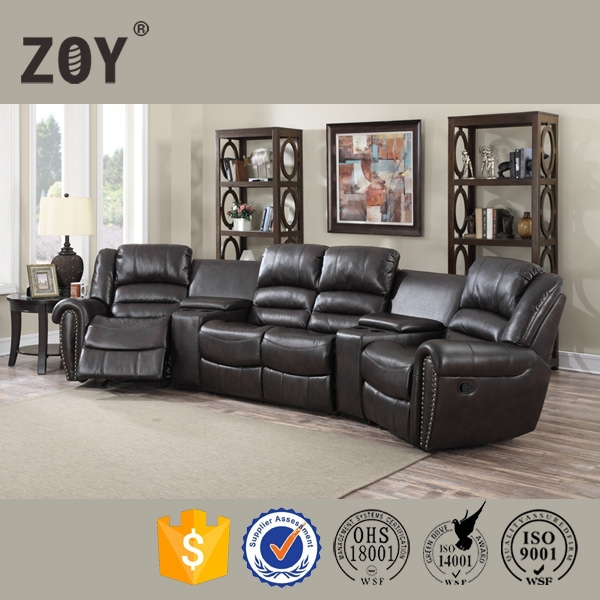 ZOY-95960 Modern Home Theatre Cinema Sofa, Home Theatre Recliner Chair
