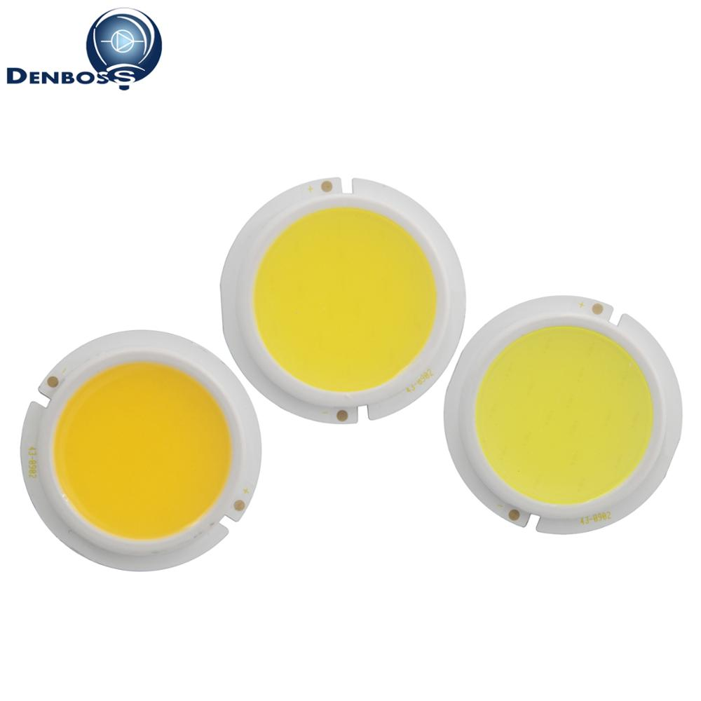 Manufacturer custom COB LED Light chip 43mm ABS thicken round 3W 5W 7W 9W cob module for downlight