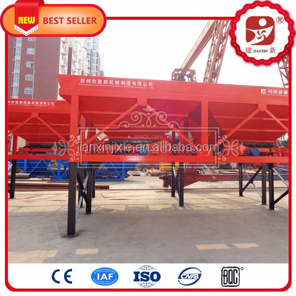 Weighing hopper type concrete batching machine concrete dosing unit for precast concrete