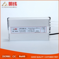 Single ouput 300W aluminum waterproof LED driver 12v 25a switching power supply
