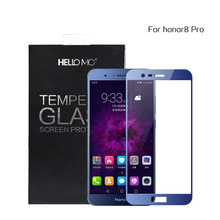 High quality wholesale 9h 3d phone tempered glass screen protector for Huawei honro8 pro