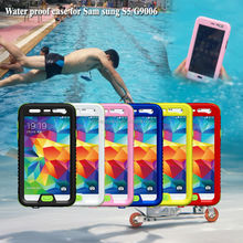For Samsung Compatible Brand and PC + Silicone Material universal waterproof case for Samsung galaxy s5