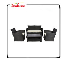 rattan luxury sofas outdoor furniture,used 4 pcs rattan sofa for sale
