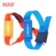 RFID ISO 18000-6C UHF fabric party wristbands woven wristbands