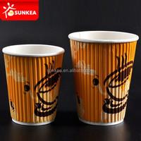 Custom printed 16oz / 20oz paper coffee cups